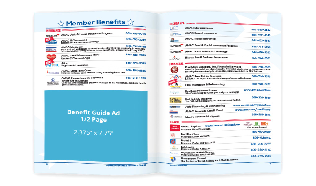 Benefit Guide - half page