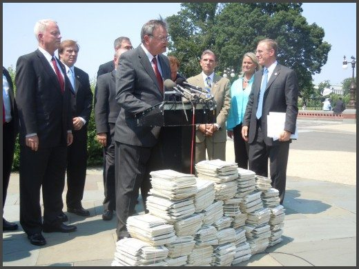 AMAC delivers over 50,000 petitions against Obamacare to Washington, D.C