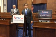 Senator Marco Rubio (FL) speaks at the AMAC Award Reception on Capitol Hill