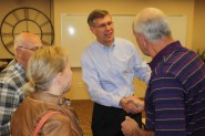 AMAC members meet individually with Rep. Erik Paulsen (MN-03) following the conclusion of a town hall meeting in Eden Prairie.