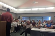 Congressman Doug Collins (R-GA) addresses a large group of AMAC members on August, 26, 2015 in Gainesville, GA.