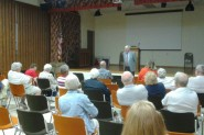 Rep. Glenn Grothman (R-WI) addresses AMAC members during an August town hall meeting in Manitowoc, Wisconsin.