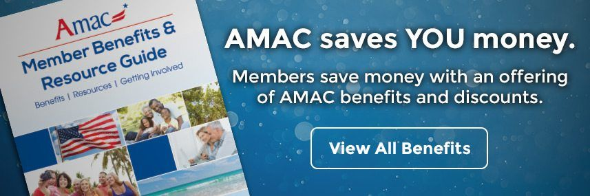 AMAC Saves YOU money. Members save money with an offering of AMAC benefits and discounts. View All Benefits.