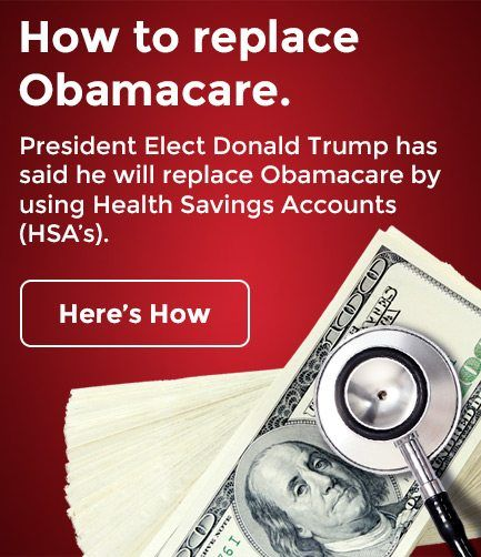 How to replace Obamacare. President Elect Donald Trump has said he will replace Obamacare by using Health Savings Account (HSA's). Here's How it Could Work.