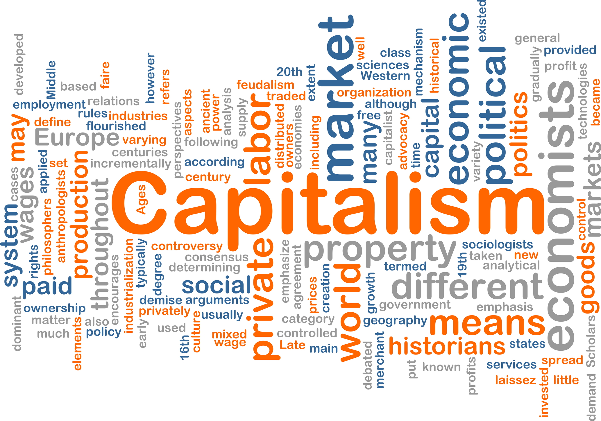 capitalist society The essential ideas concerning the society of free and associated producers - the post-capitalist society - as well as the conditions of its realisation, elaborated by marx in his writings of different periods, are already found in the communist manifesto in a condensed form in the text that follows we argue that the.