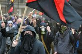 protest violent Antifa anarchy terrorism