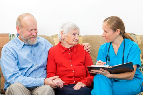 hospice doctor elderly