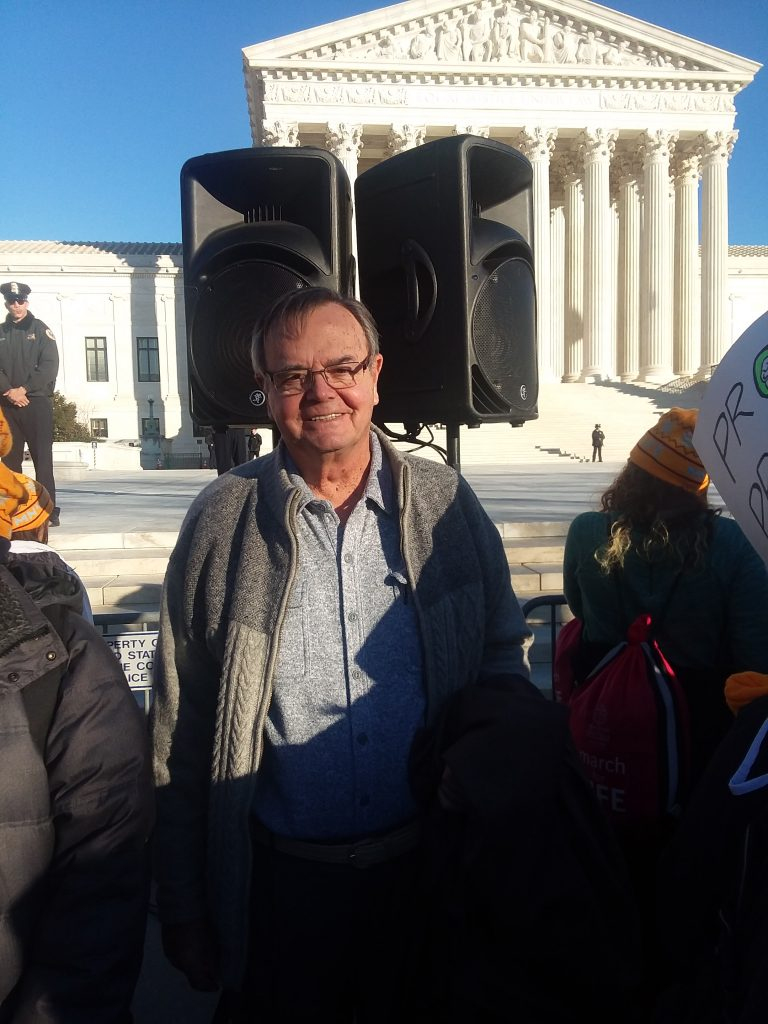 Dan Weber President AMAC March for Life
