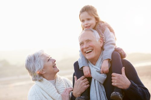 older Americans grandchildren children seniors values