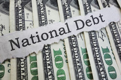national debt security