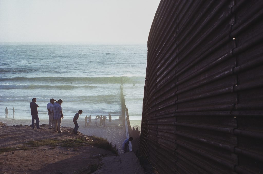 border wall Mexico US Veteran