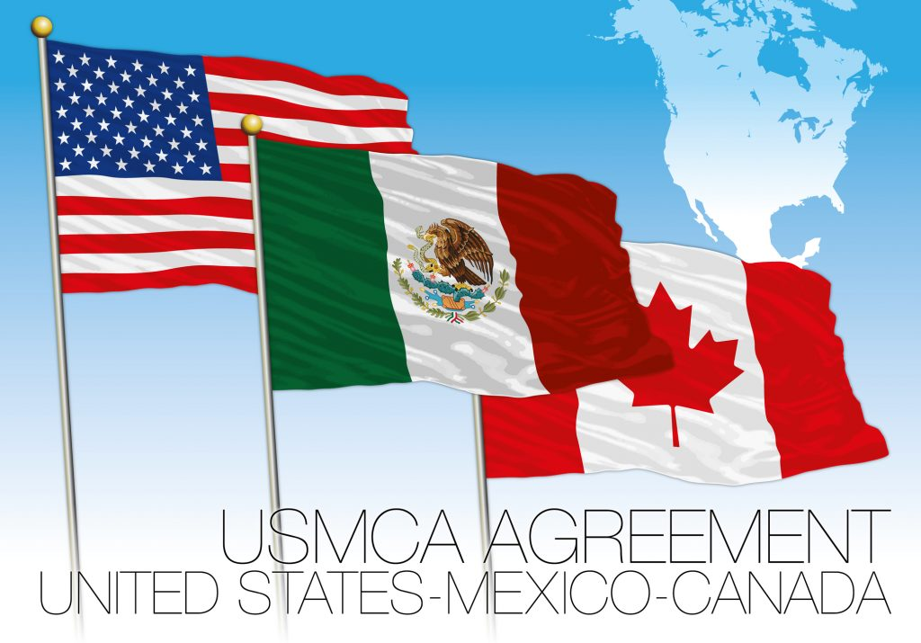 This Week President Trump Announced The Us Mexico Canada Trade