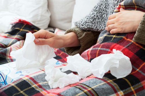 sinus-infection-tissues-nose