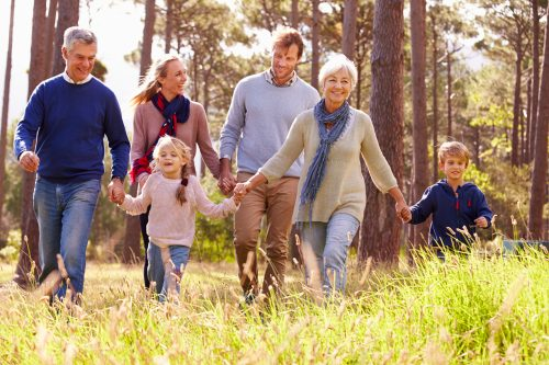 family friends lives healthier happier