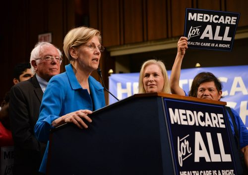 Medicare for all progressive presidential election