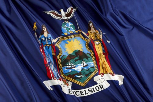New York State Flag adoptees birth certificate