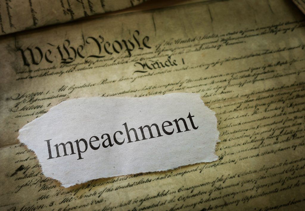 Impeachment power abuse