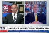 Dangers of Manufacturing Drugs in China – Robert Charles on The Chris Salcedo Show