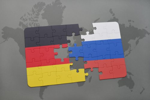 Germany Russia Flags